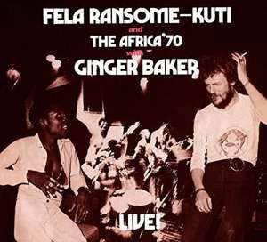 Fela With Ginger Baker Live! [VINYL] Fela Kuti £9.75 + £2.99 NP @ Amazon