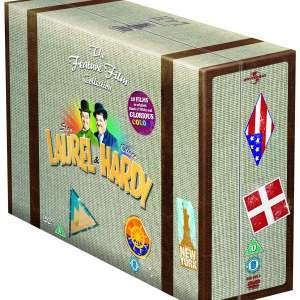 Laurel and Hardy: The Feature Film Collection Box Set (DVD) £14.99 @ Zoom