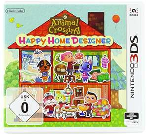 Animal Crossing Happy Home Designer 3DS Video Game - Used like new - £6.87 prime / £9.86 nonPrime @ Amazon