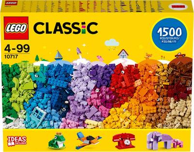 LEGO Classic Bricks 10717 - 1500 pieces £25 Asda