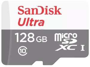 SanDisk 128GB Ultra Micro SD Card (SDXC) UHS-I - 80MB/s - £11.99 or 2 for £23 Delivered @ MyMemory