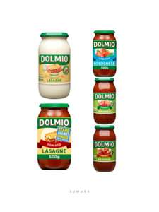Buy 3 jars of dolmio 500g and get 1kg of pasta free @ Iceland £3 spend