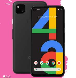 New Google Pixel 4a - Vodafone £22 6GB Data, £25 RRP + Free £50 Currys PC World Gift Card @ Mobiles.co.uk
