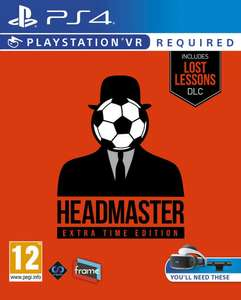 Headmaster Extra Time Edition (PS4 / PSVR) £13.85 Delivered @ Base