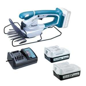 Makita G Series Charger and 2x Batteries + Grass Shears £49.30 delivered @ Toolden