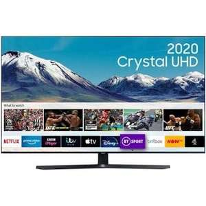 """Workplace Discounts / Unidays / Students Only : Samsung 55"""" TU8500 Crystal UHD 4K HDR Smart TV with free Smartthings Cam £594.15 @ Samsung"""