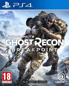 Ghost Recon Breakpoint (PS4) + Nano Brake Light for £1.85 delivered @ Shop To