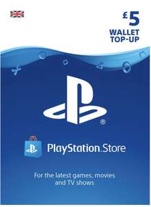 PSN Wallet Top Up - £5 for £4.69 / £10 for £8.69/ £15 for £12.69/ £20 for £17.69 @ Simply Games