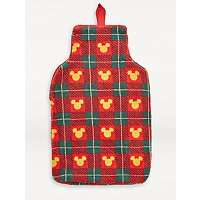 Red Disney Mickey Mouse Festive Tartan Cover & Hot Water Bottle, Now £5 + Free Click & Collect @ Asda