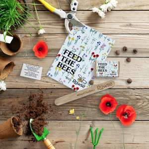 Free Wildflower Seeds with Rowse Honey - Feed the Bees
