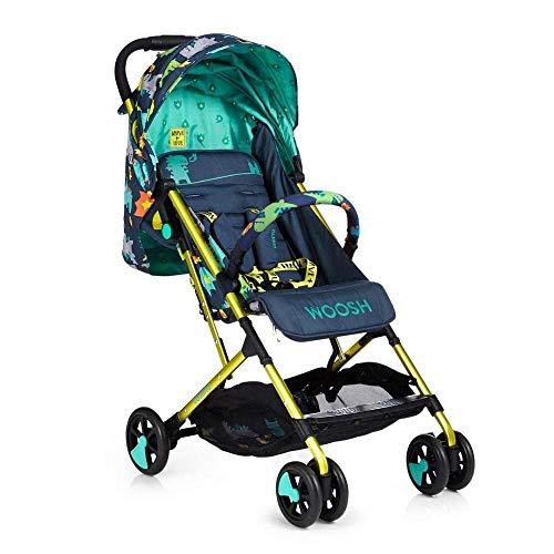 Cosatto Woosh 2 Pushchair – Lightweight Stroller From Birth to 25kg - One Hand Easy Fold, Compact (Dragon Kingdom) - £151.95 @ Amazon