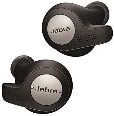Jabra Elite Active 65t Earbuds - Passive Noise Cancelling Bluetooth Sport Headphones Earphones / Titanium Black - £95 @ Amazon