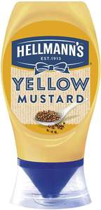 Hellmann's American Style Yellow Mustard 19p at Farmfoods Ilford. BB SEP 20