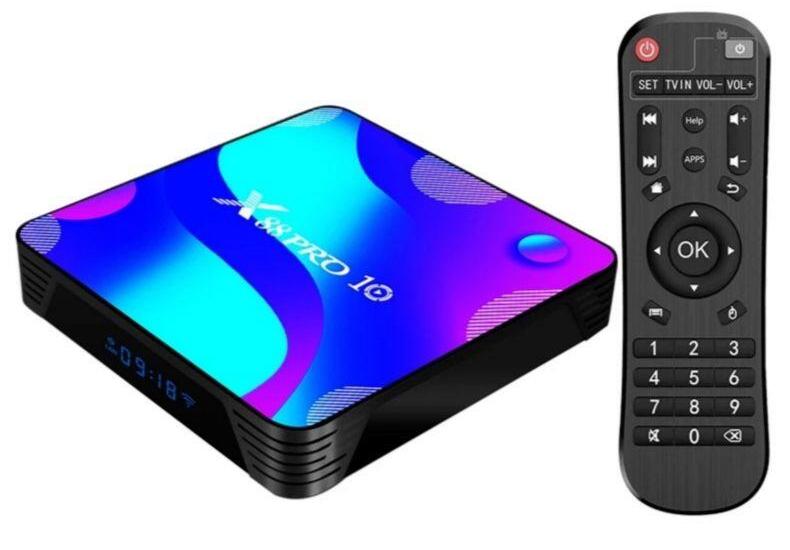 Transpeed Android 10 TV Box 4K UHD - £17.98 2GB/16GB   4GB 32GB £21.76   4GB 64GB £25.60 UK Plug @ ibestec Store \ Aliexpress