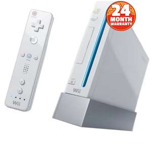 Nintendo Wii Console Pre-owned (discounted) £25 / £26.95 delivered + 2 Year Warranty @ CeX