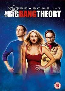 The Big Bang Theory: Seasons 1-7 DVD - £3.59 with code @ MusicMagpie