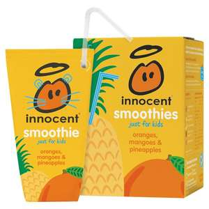 Kids innocent smoothies 4 X 150ml - half price £1.50 at Asda, various flavours