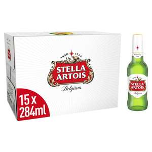 Stella Artois 15X284ml £7 @ Tesco