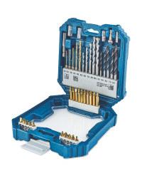 41 Piece Premium Drill Bit Set - £7.99 in store @ Aldi (+£2.95 delivery)