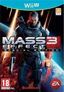 Mass Effect 3 Wii U 2 years warranty: Pre-owned £3 instore / online £4.95 delivered @ CEX