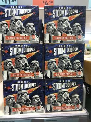 Stormtrooper Galactic Pale Ale 330ml x 4 Cans - £4.25 at Aldi