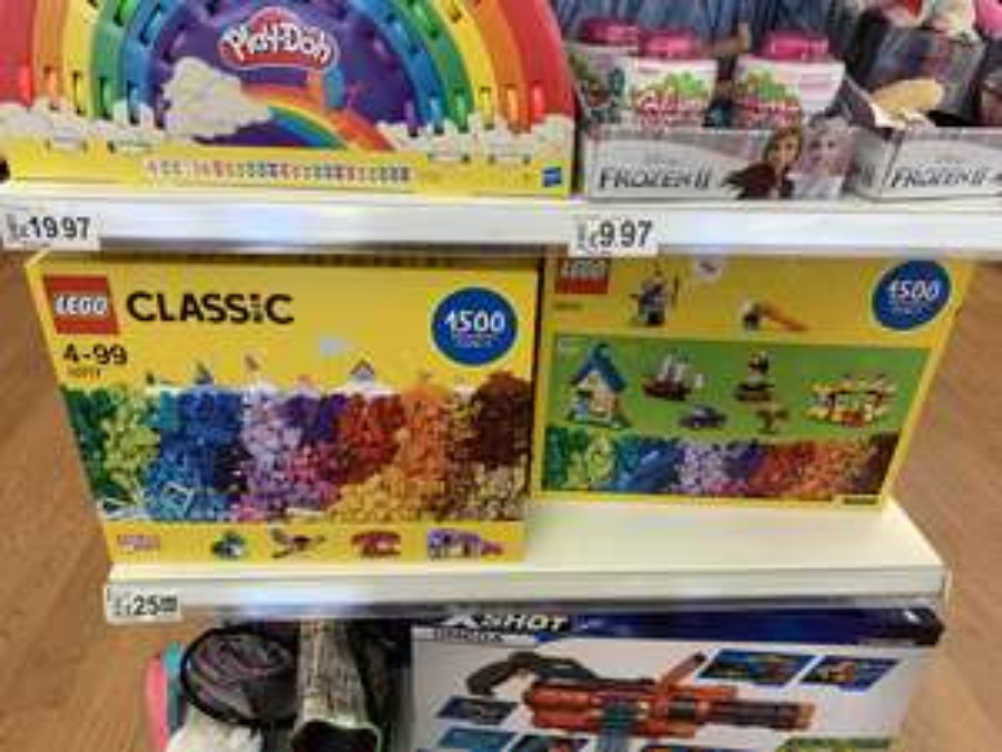 LEGO Classic 10717 £25 instore at ASDA George Lakeside