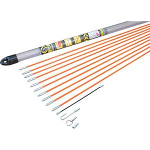 C.K. Mighty Rod Sets from £26.98 e.g C.K MightyRod Standard Cable Rod 10m Set 10m £26.98 @ Toolstation