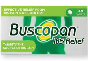 Buscopan IBS Relief, Pack of 40 Tablets £6 prime / £10.49 non prime @ Amazon