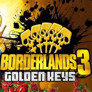 5 Free Golden Keys for Borderlands 3 (All Platforms) @ Gearbox