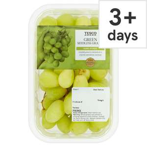 Green Grapes Punnet 500G £1 / Broccoli 35p / Mango 59p / Conference Pears Pack 610G 75p / Figs 4 Pack 60p / Iceberg Lettuce 35p @ Tesco