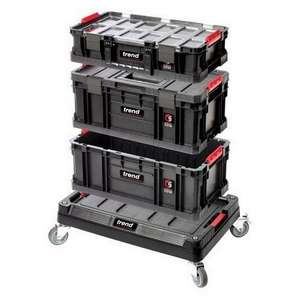 Trend Modular Toolboxes With Cart £60 + £5.95 delivery at Anglia Tool Centre