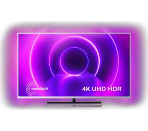 """PHILIPS 58PUS9005/12 58"""" 4 Sided Ambilight Android Smart 4K Ultra HD HDR LED TV, Dolby Vision, Dolby Atmos, Google Asst £549 Currys PC World"""