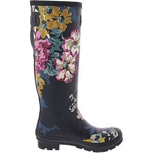 Joules Women's Welly Print Tall Wellington Boots £19.95 (Prime) / £24.44 (non Prime) at Amazon