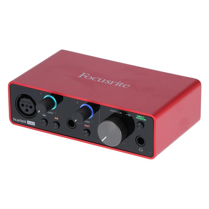 Focusrite Scarlett Solo 3rd Gen USB Audio Interface - £77 Delivered @ Bax Music