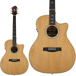Hagstrom Elfdalia II Grand Auditorium Acoustic Guitar With Cut-Away and a Solid Top - £394 Using Code @ Bax Music
