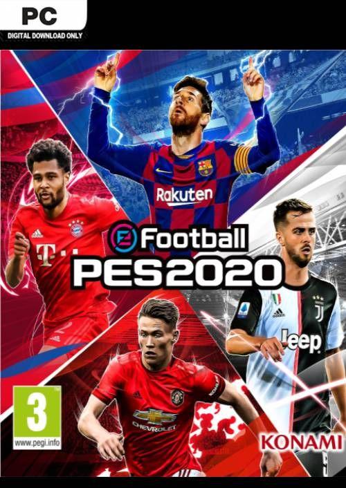 E-Football PES 2020 PC £8.99 at CDKeys