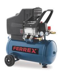 Aldi Ferrex 2.5HP air compressor 24L £86.94 delivered