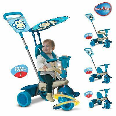 Smart Trike Touch Steering 4-in-1 Safari Ride On Monkey 10+ Months - £46.62 @ Argos / ebay