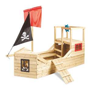 TP Pirate Galleon Wooden Playhouse £256.94 delivered @ Aldi