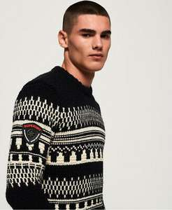 Superdry Mens Jackson Crew Jumper - £17.99 @ Superdry / ebay