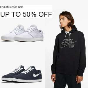 Now at least 40% Off selected Nike SB (Skateboarding) styles in the Nike End of Season Sale - Prices from £30.47 + Free delivery @ Nike