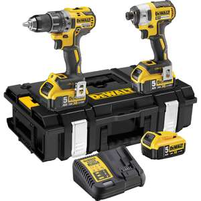 DeWalt DCK266P3-GB 18V XR Brushless Combi Drill & Impact Driver Twin Pack 3x 5.0Ah £299.98 @ Toolstation