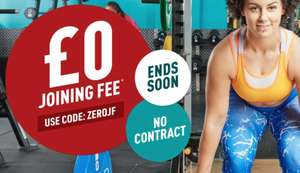 Zero joining Fee at PureGym