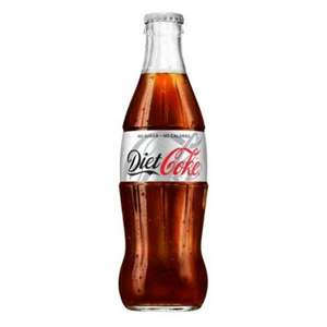 24 Glass bottles of Diet Coke £5.79 + £5.49 Delivery @ Bargain Foods Free delivery if you spend £35