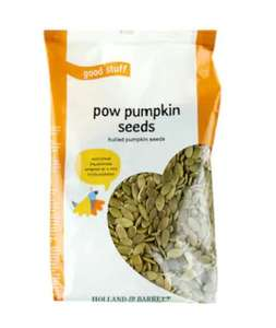 2 x 400g Holland & Barrett Pumpkin Seeds (800g) £3.75 delivered with code @ Holland and Barrett