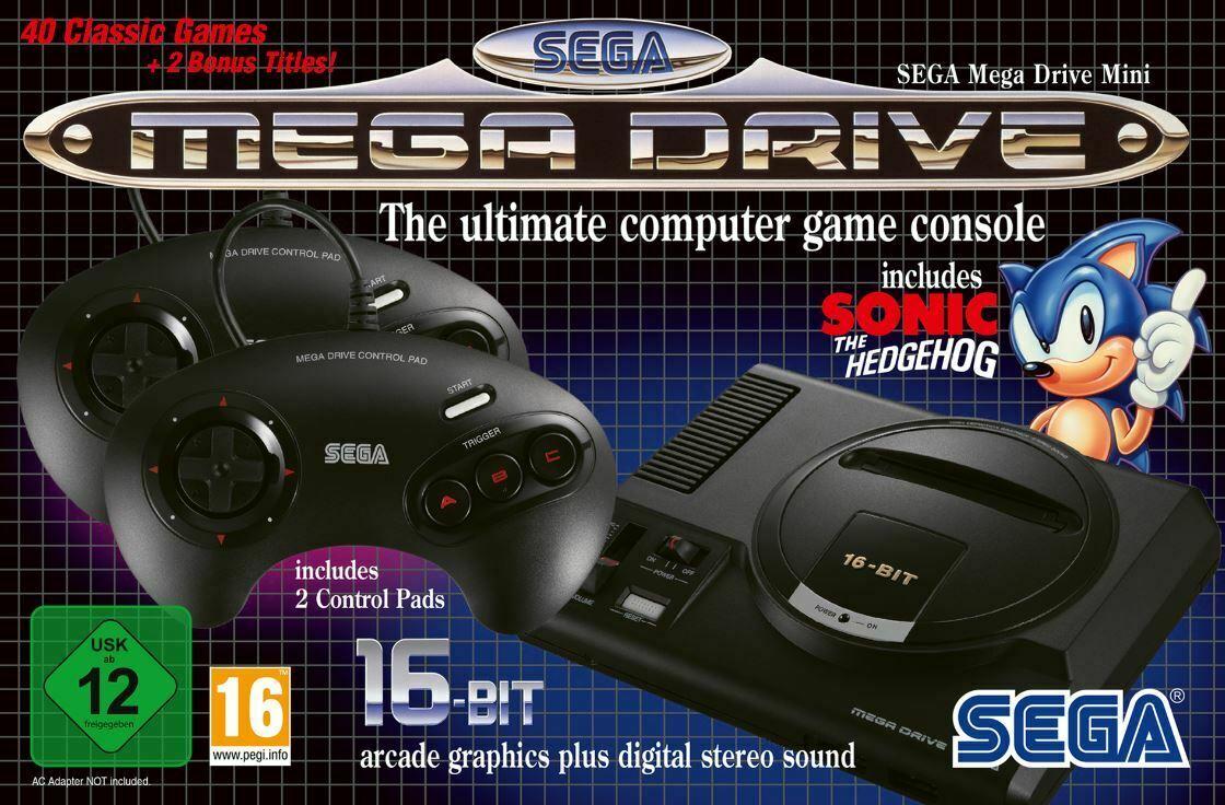 Sega Mega Drive Mini Classic Console with 40 games £50.96 Delivered @ TheGameCollection eBay using code