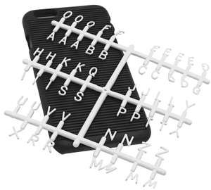 Doin it for the Gram Letter Board iPhone 7 & 8 Phone Case Assortment £1 free click and collect at Argos