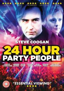 24 Hour Party People HD Rental 99p at iTunes