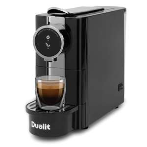 Buy the Cafe Plus Capsule tea pod and coffee machine for just £99 @ Dualit