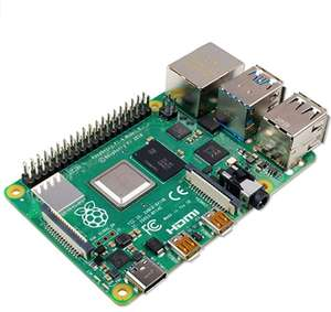 Raspberry Pi 4 Model B (4GB RAM) £42 @ Amazon